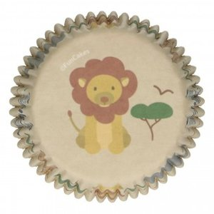 FunCakes Baking Cups Safari Animals pk/48
