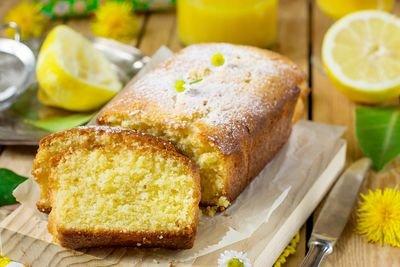 Citroen-Mascarpone cake