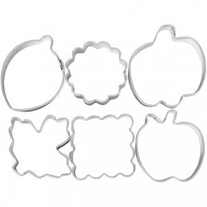 Wilton Mini Cookie Cutter Pie Set/6