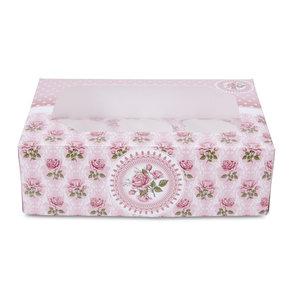 rose garden cupcake doos met insert