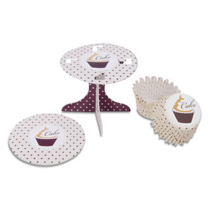 Cupcake stand set swing
