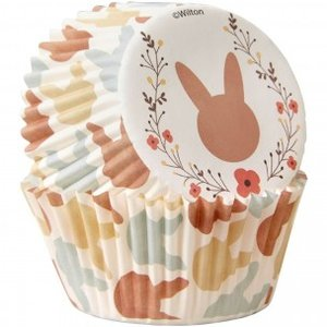 Cupcakevormpjes Happy Bunny pk/75