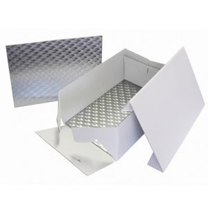 Cake Box & Oblong Cake Board 33 x 22,8 cm