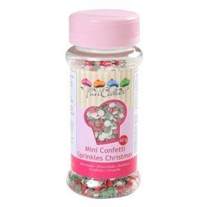 FunCakes Mini Confetti Kerst 60g