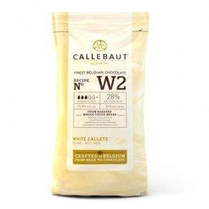 Callebaut Chocolade Callets Wit 1 kg