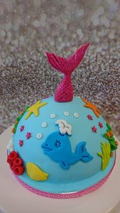 Boltaart feestje Mermaid