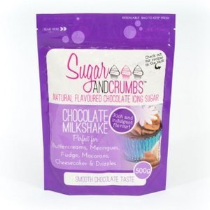 Sugar and Crumbs Icing Sugar Chocolate Milkshake 500g