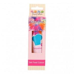 FunCakes Edible FunColours Gel - Turquoise 30g