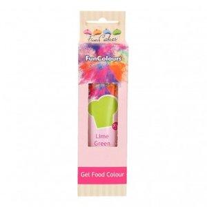 FunCakes Edible FunColours Gel  Lime Green 30g