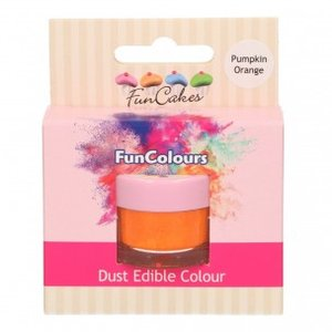 FunCakes Edible FunColours Dust  Pumpkin Orange