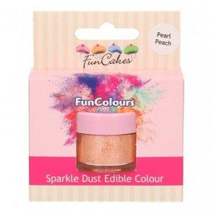 FunCakes Edible FunColours Sparkle Dust  Pearl Peach