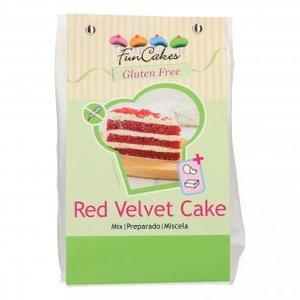 FunCakes Mix voor Red Velvet Cake, Glutenvrij 400g