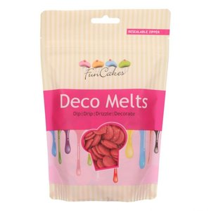 FunCakes Deco Melts Red 250g
