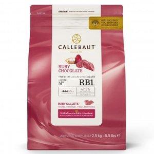 Ruby chocolade Callebaut 250 gram