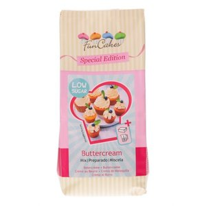 Funcakes mix voor Botercrème low sugar
