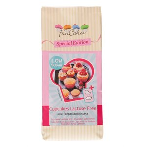 Funcakes mix voor cupcakes lacose vrij, low sugar