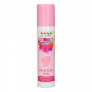 FunCakes FunColours Velvet Spray Pink 100ml