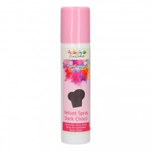 FunCakes FunColours Velvet Spray Dark Choco 100ml