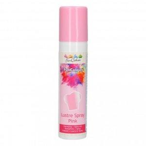 FunCakes FunColours Metallic Spray Pink 100ml
