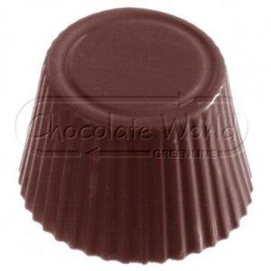 CW Polycarbonaat Chocolade Vorm Cuvette Rond